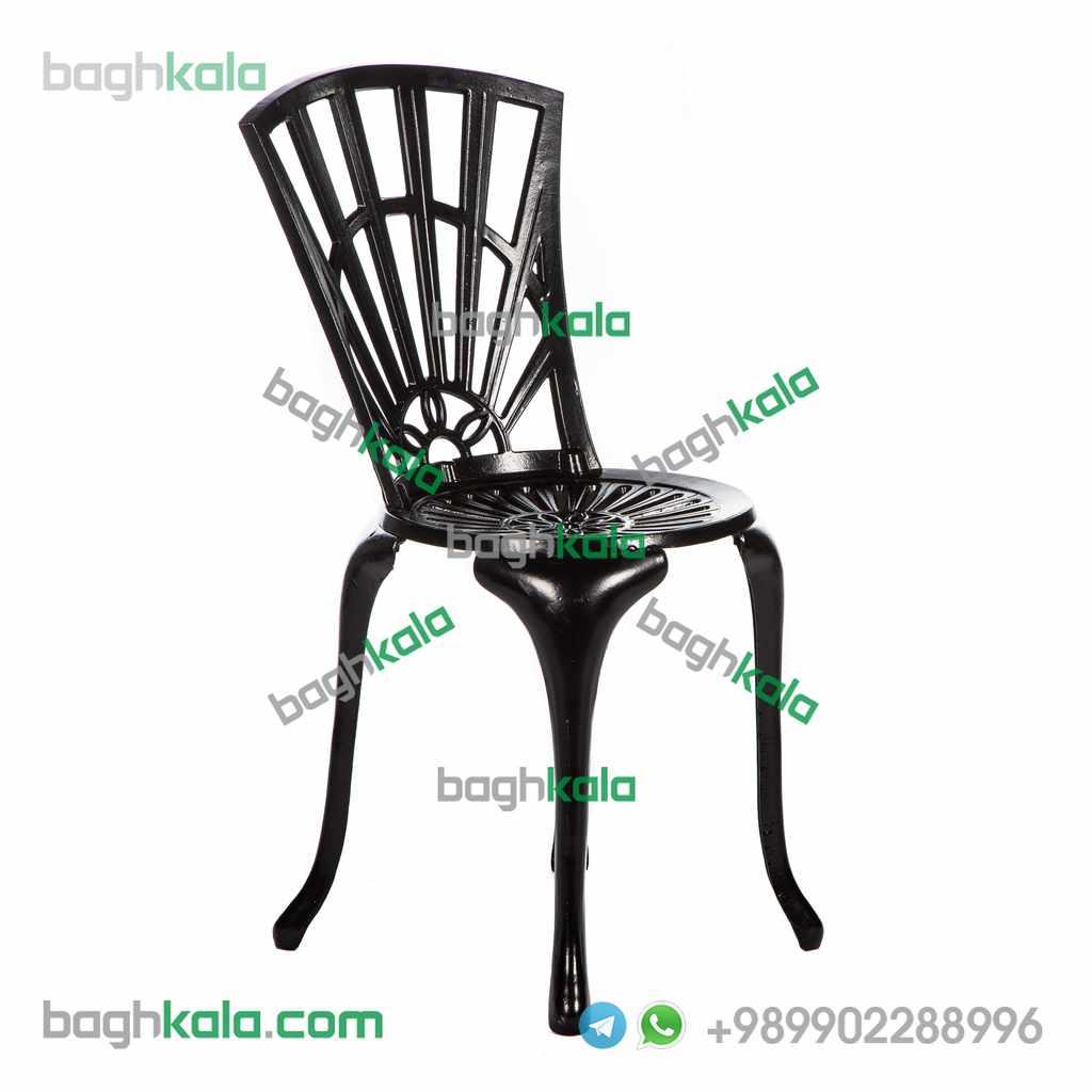 صندلی کافی شاپ آلومینیومی