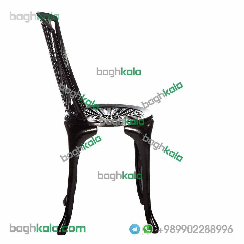 صندلی کافی شاپ آلومینیومی آزالیا بدون دسته