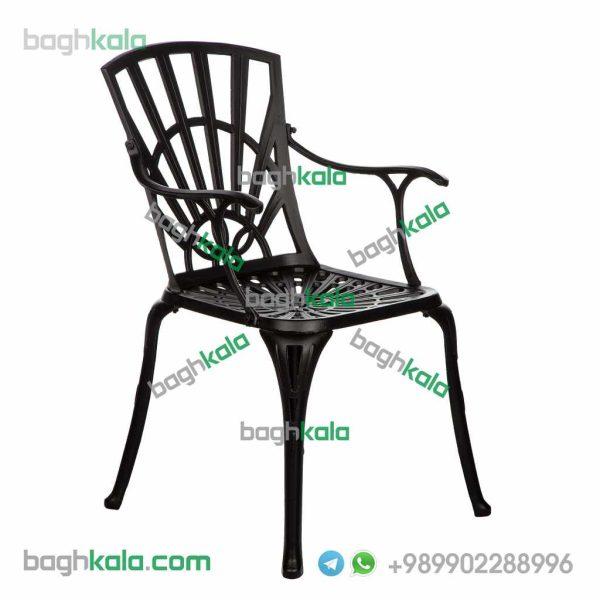 صندلی فضای باز آلومینیومی