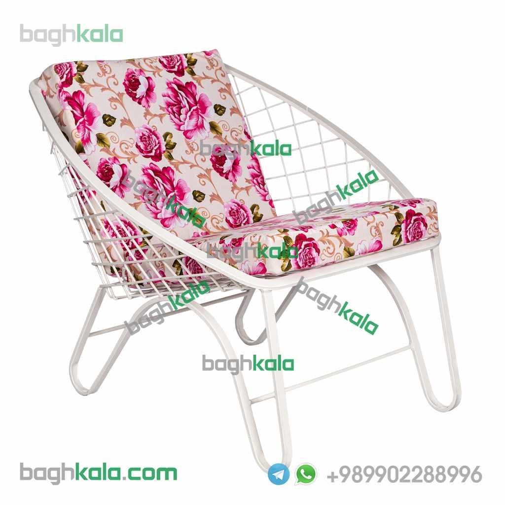 صندلی باغی فلزی پریوش