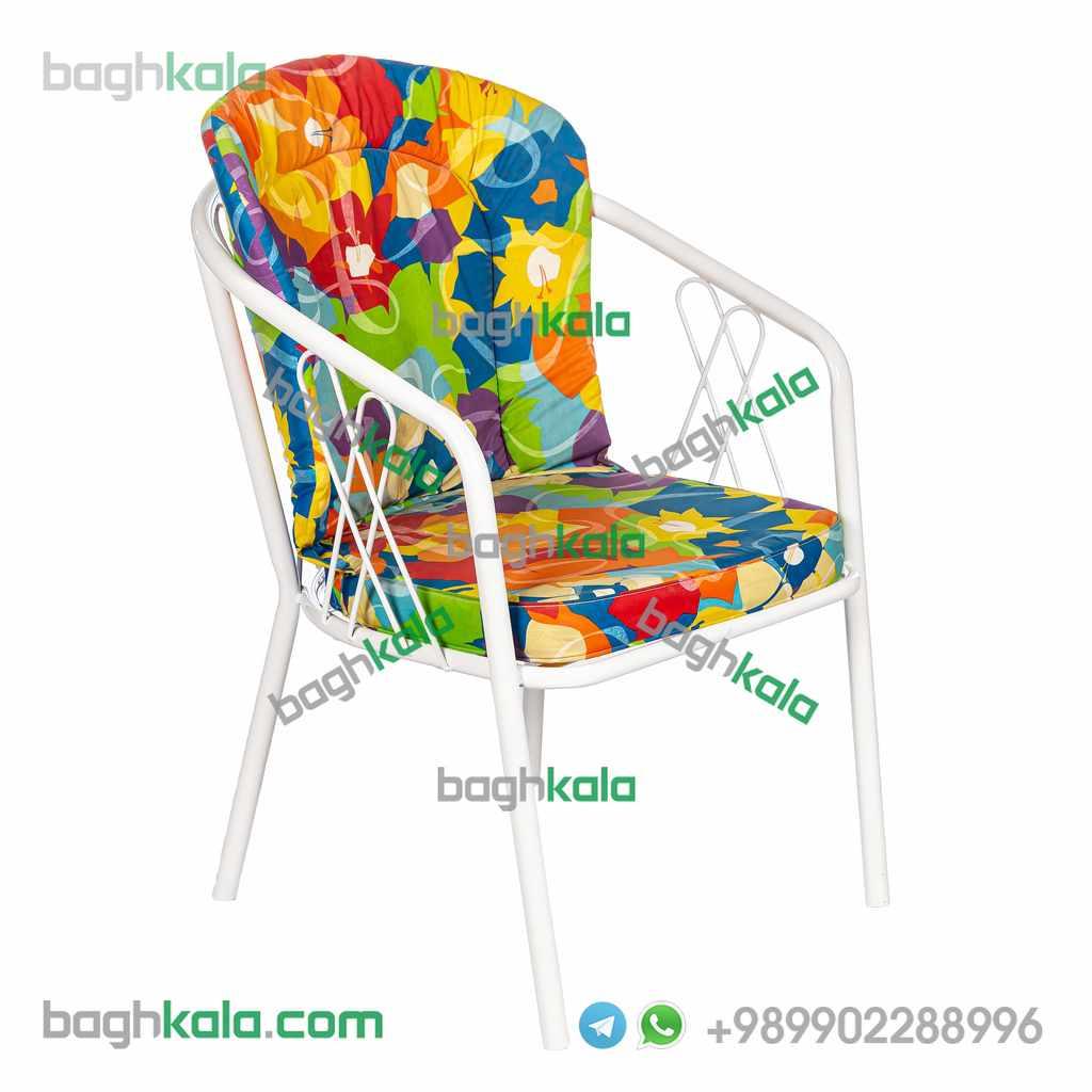 صندلی فضای باز فلزی آکامیا