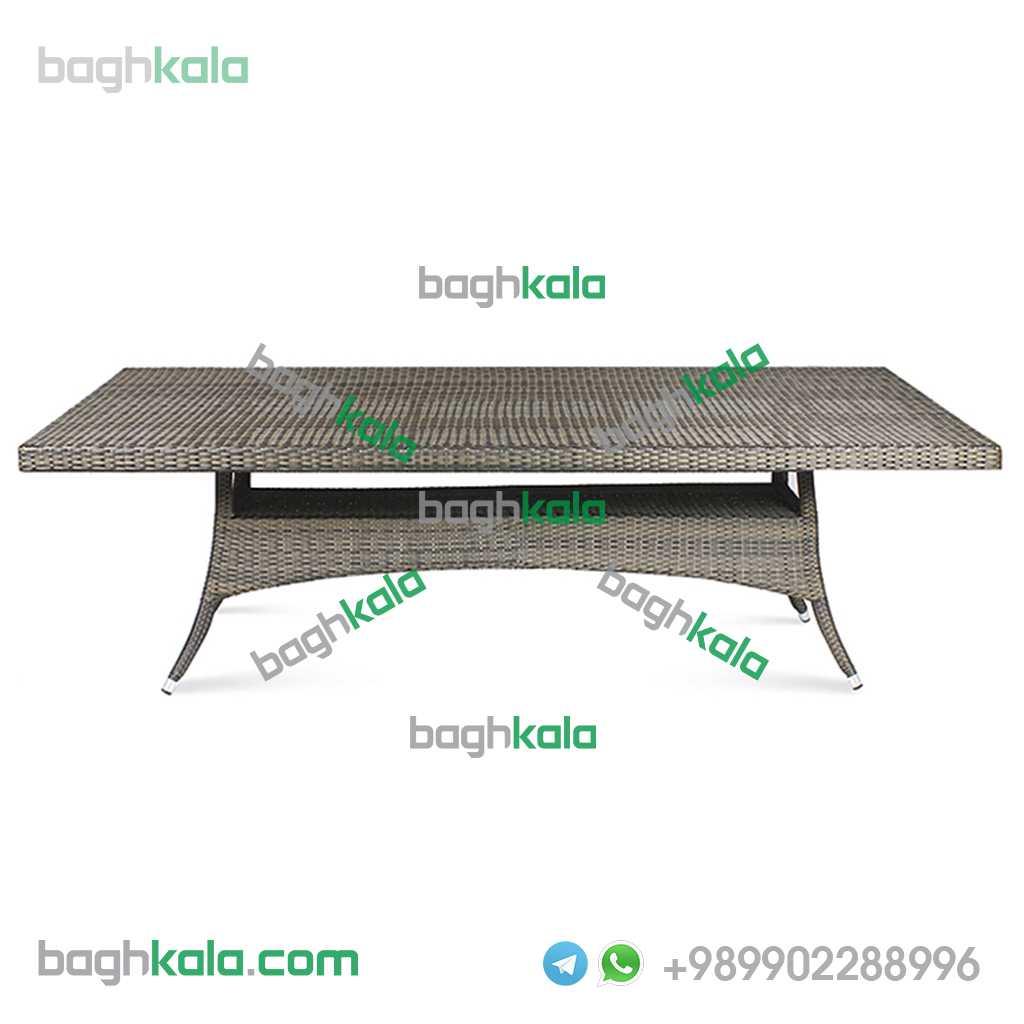 میز حصیری مستطیل در سایز های گوناگون