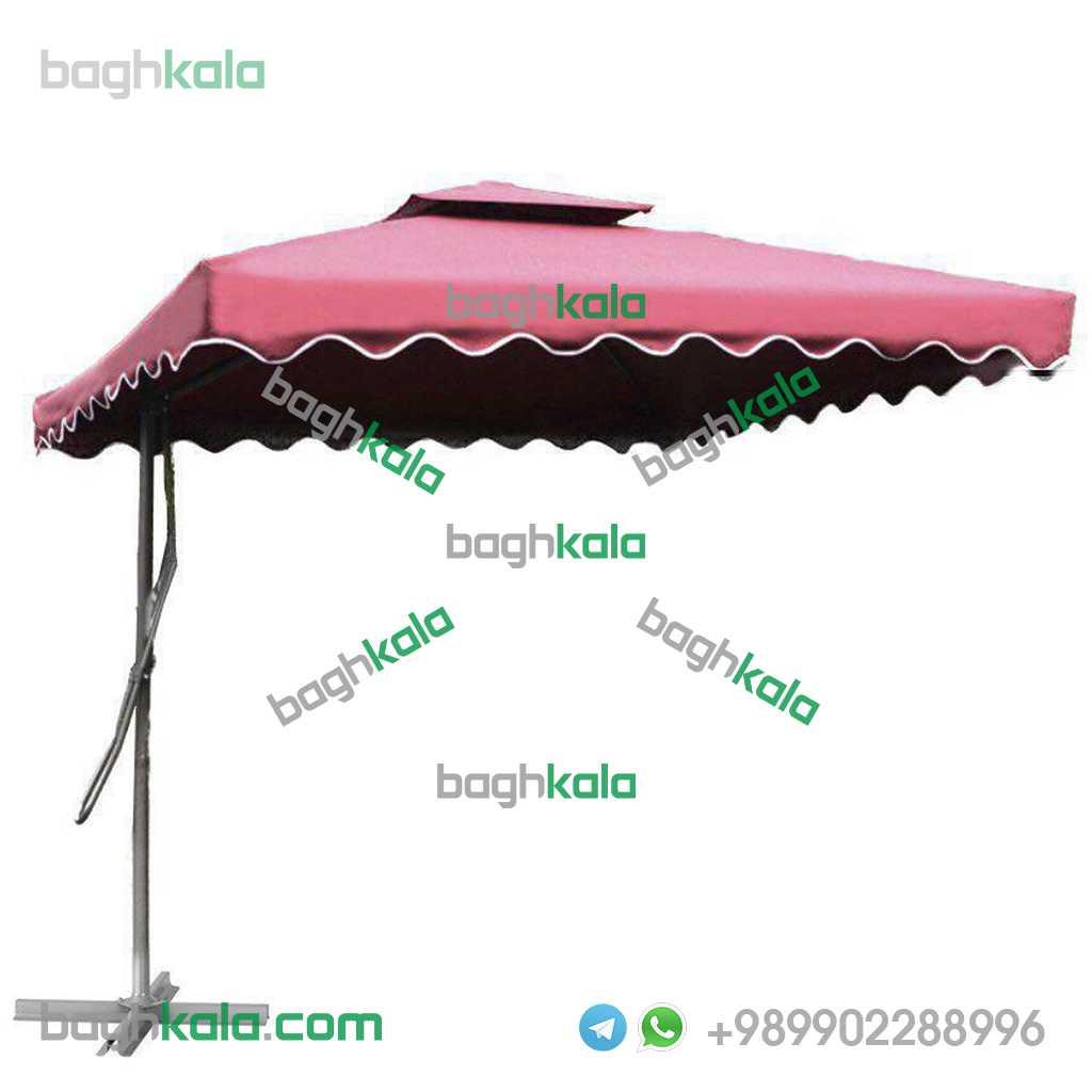 چتر پایه کنار نهال