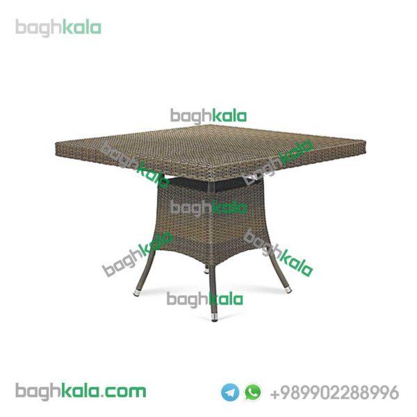 میز حصیری مربع انواع مختلف