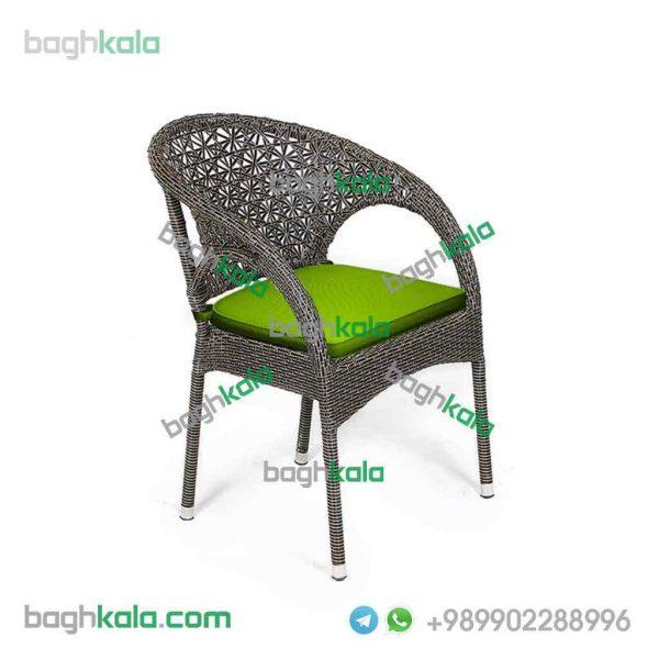 صندلی حیاط حصیری