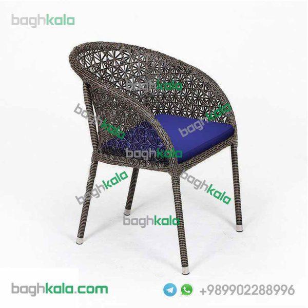 صندلی فضای باز حصیری