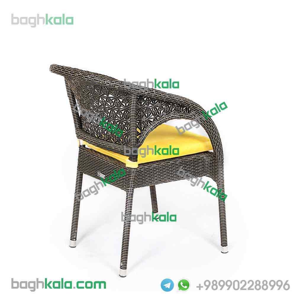 صندلی حیاط حصیری یاسمن