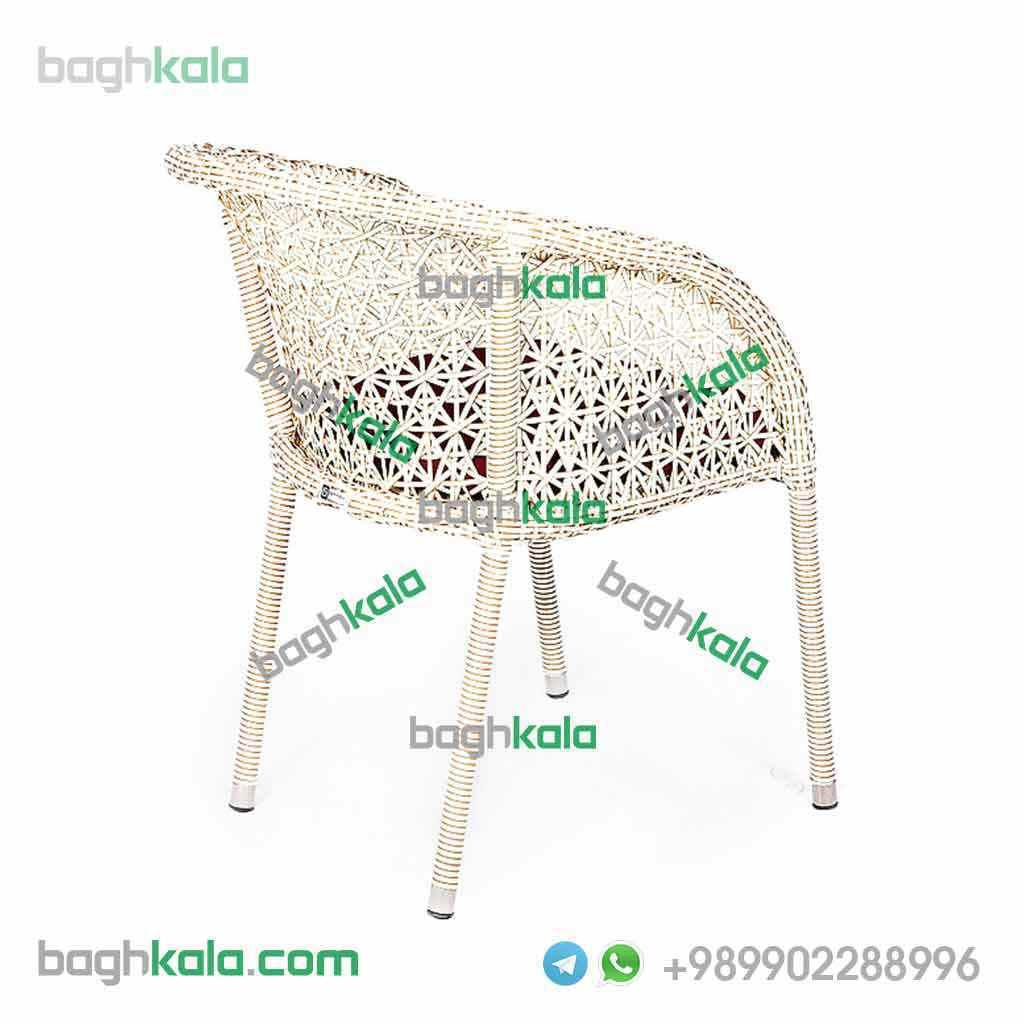 صندلی فضای باز حصیری سنبل