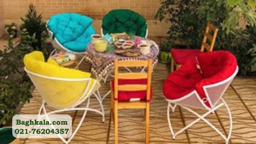 قیمت میز و صندلی فلزی باغی