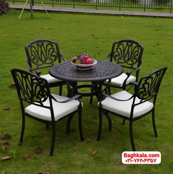 میز و صندلی آلومینیومی