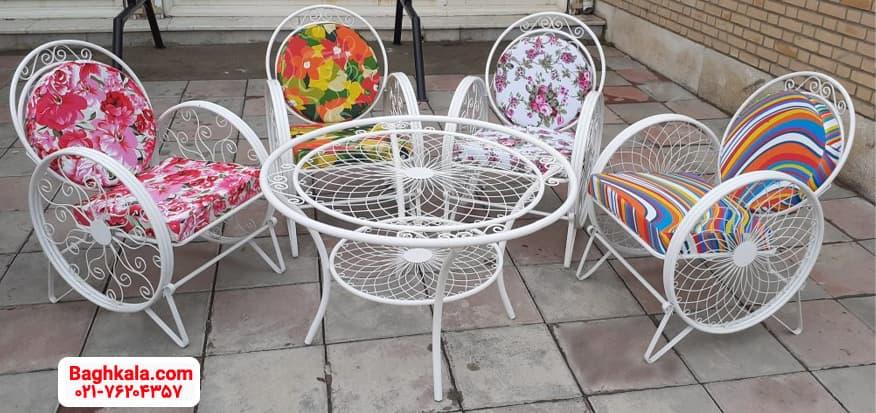 میز و صندلی فلزی